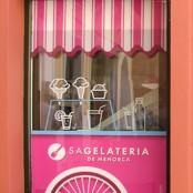 Comunicación gráfica heladería /<br> Graphic Communication ice cream shop