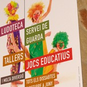 Carteles actividades /<br> Activities posters